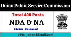 UPSC Admit Card 2021 – NDA & NA Examination (I) for 400 Posts